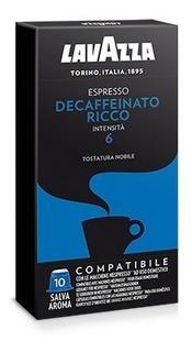 Cafe Capsulas Lavazza Descafeinato Compatible Nespresso X 10