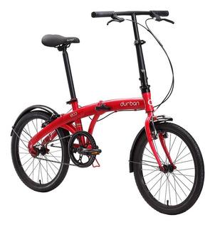 Bicicleta Dobrável Aro 20 Aço Carbono Dobrada 33x80x66