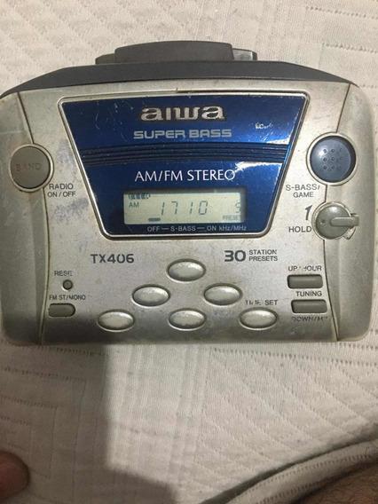 Walkmans Aiwa Super Bass Tx 406