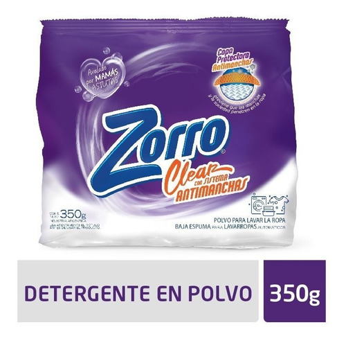 Det. Polvo Zorro Clear Be 350g