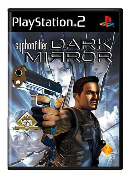 Syphonfilter Dark Mirror Ps2 Mídia Física Usado