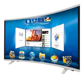 Tv Hyundai 32 (80cm) Smart Led Hd Curvo - Dvbt2