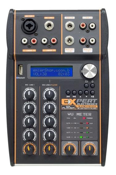 Mesa De Som Expert Mx Player Bluetooth Reciver Processador