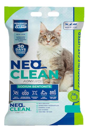 Imagen 1 de 5 de Neo Clean - Arena Aglomerante - Manzana 30 Litros