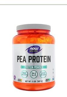 Pea Protein Now-907g-proteína De Ervilha-sabor Natural