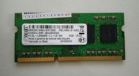 Memoria P/ Notebook Ddr3 - 4gb 1rx8 Pc3l-12800s -smart