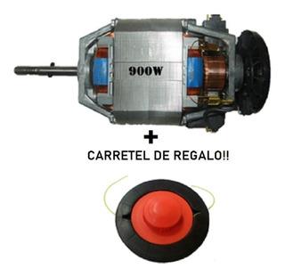 Motor Para Bordeadora Electrica 900w + Carretel