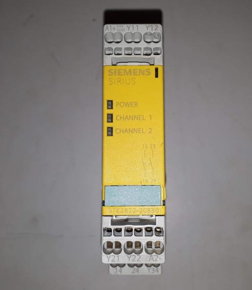 Relé De Segurança Siemens Sirius - 3tk2822-2cb30