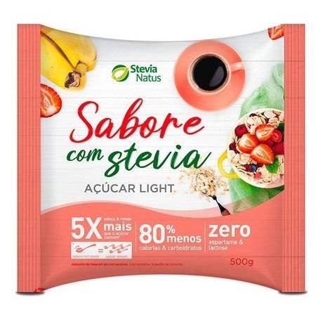 Imagem 1 de 1 de Açúcar Light Sabore Stevia Natus 500g