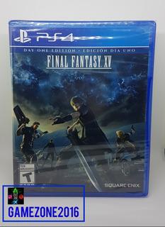 Final Fantasy Xv * Nuevo * Español * Ps4 * Fisico * 15