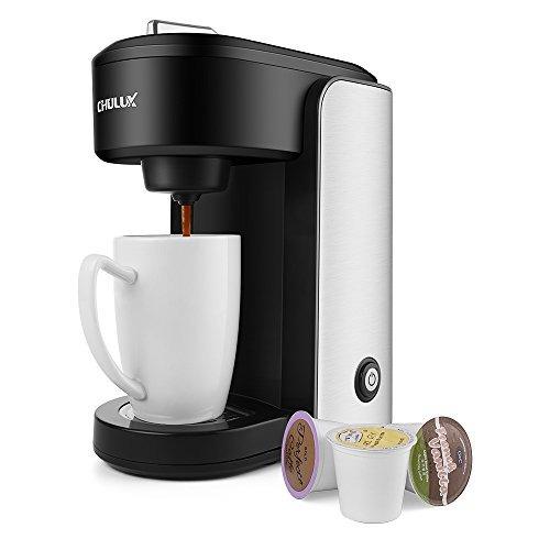 Chulux Cafetera Electrica Personal Con Dispensador