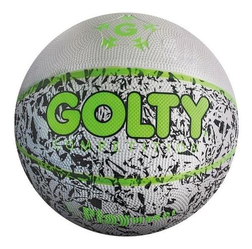 Balon Baloncesto Golty Caucho Outdoor Numero 7 Basketball