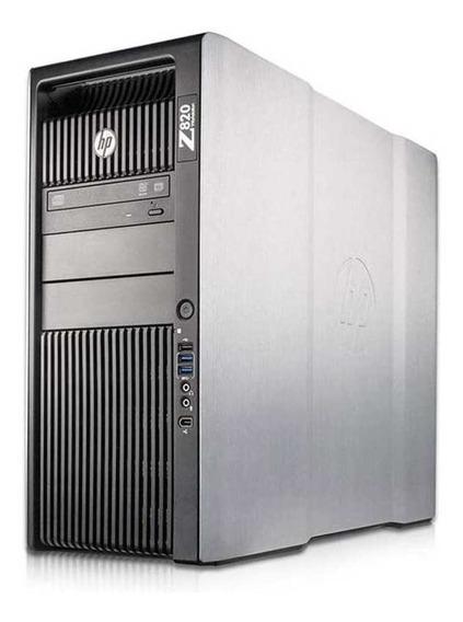 Workstation Hp Z820 Six Core 2.0 Ghz 16gb 2x500gb Seminovo!
