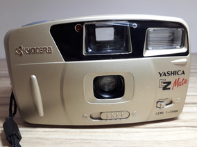 Câmera Fotográfica Yashica Ez Mate Kyocera - Funciona Belê
