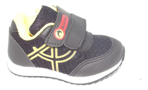 Tênis Jogging Velcroo Infantil Botinho Colonelli Bm785 Novo