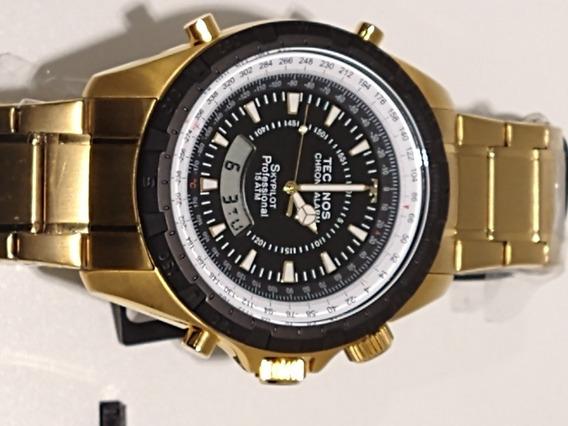 Relógio Technos Skypilot T205fe/4p
