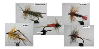 Moscas Para Pescar, Pesca Con Mosca 40/u Producto Nacional