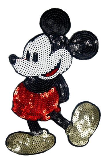 Parches Lentejuela Mickey Ropa Aplicación Accesorios Dama