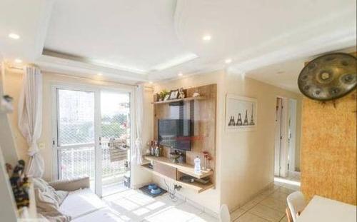 Apartamento Com 2 Dormitórios À Venda, 53 M² Por R$ 385.000 - Mooca - São Paulo/sp - Ap2749
