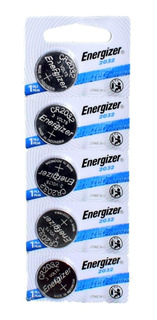 Pila Energizer Cr2032 Blister X 5 Litio 3v Pack X5