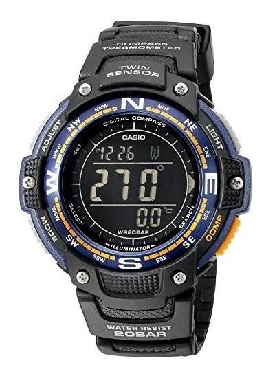Reloj Casio Sport Digital Sgw-100-2bcf 51mm *jcvboutique*
