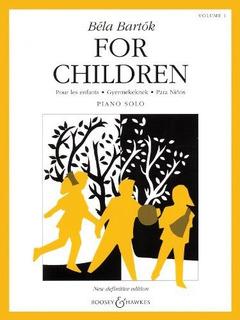 Bartok Para Niños Volumen 1 Bh Piano Serie Piano Songbook