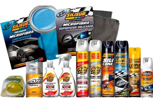 Imagen 1 de 2 de Super Kit Hogar Desinfección 12 Productos De Limpieza
