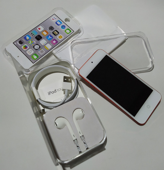 iPod Touch 6 Vermelho Apple Red 32gb Mp3 (leia) - Parcelado