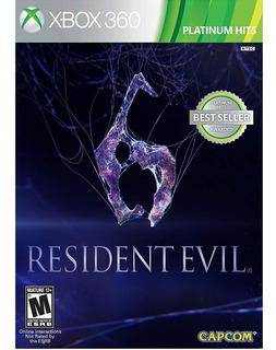 Xbox 360 Juego Resident Evil 6 Nuevo + Envío Gratis!