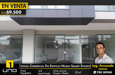 En Venta Local Comercial En Edificio Nano De Smart Studio
