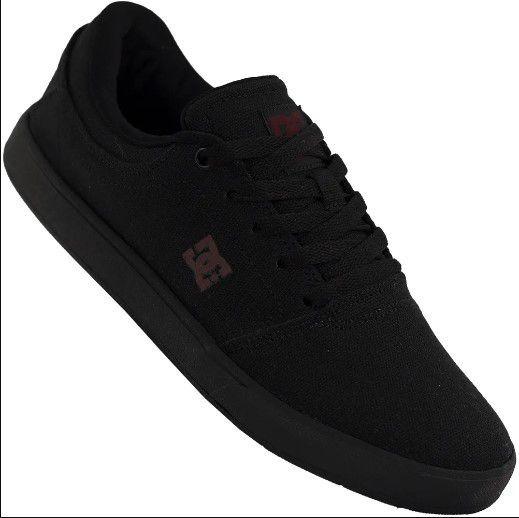 Tênis Dc Shoes Crisis Tx La Masculino - Preto