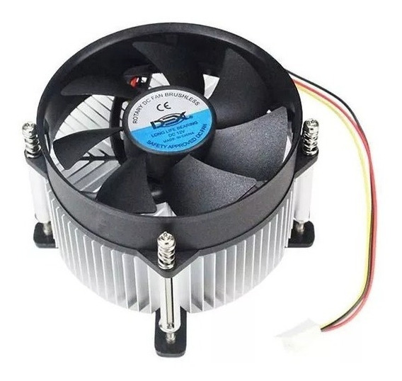 Cooler P/ Processador Intel Socket 775 Lga Dual Core
