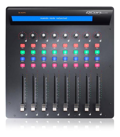 Controladora E Mixer De Áudio Icon Qcon Ex G2 Acoplável Sj
