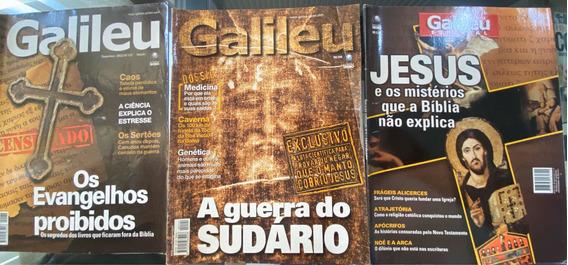 Revista Galileu Kit Com 3 Revistas.