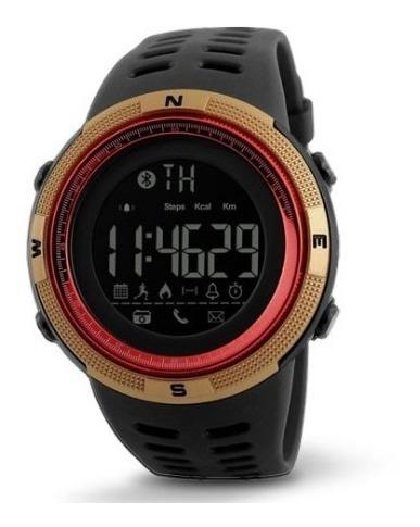 Relógio Skmei 1250 Pedômetro Bluetooth Original Unissex