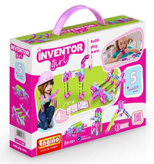 Ig05 Inventor Girls 5 Modelos En 1 Tipo Technic De Engino