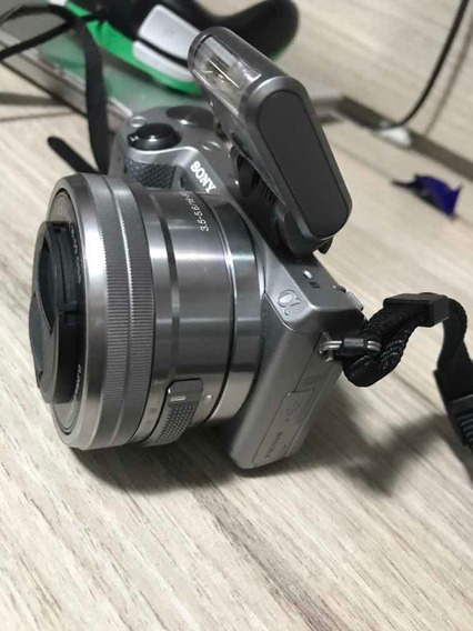 Câmera Nex 5t Sony Alpha Com Lente. Imperdível.
