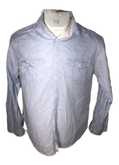 Camisa S Merona Id L468 U Detalle Hombre Remate!