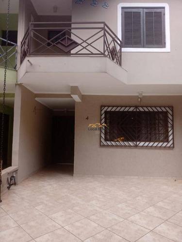 Sobrado Em Condomínio Fechado Com 3 Dormitórios À Venda, 110 M² Por R$ 480.000 - Jardim Do Papai - Guarulhos/sp - So0218