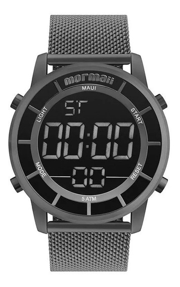 Relógio Mormaii Digital Masculino Mobj3463ba4c Preto