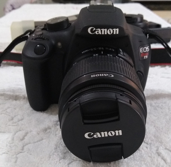 Canon T5 Kit 18-55 32gb + Bolsa
