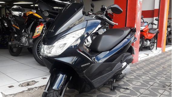 Honda Pcx 150 Ano 2018 Azul