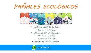 Pañales Ecológicos - Unidad a $26000