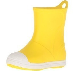 Botas Lluvia Niño Crocs Bump It Boot Yellow/oyster