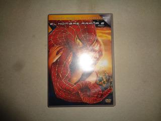 Dvd Original El Hombre Araña Spiderman 2 Fisico Buen Estado