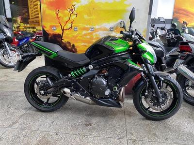Kawasaki Er-6n 2017 - Verde - King Motos