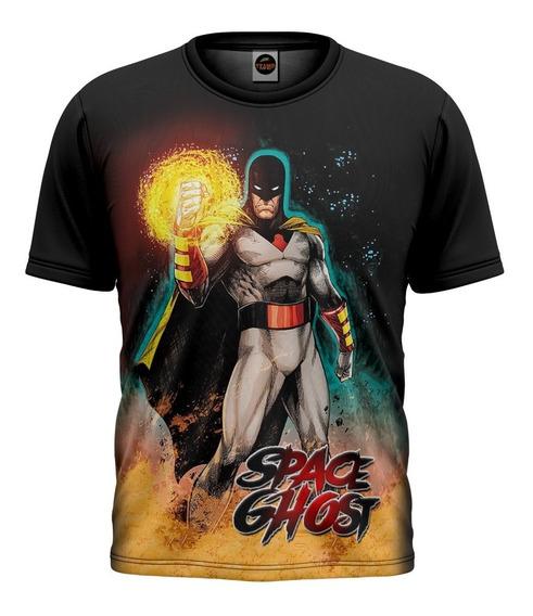 Camiseta Camisa Floral Digital Swag Splash Tie Dye Blusa 001