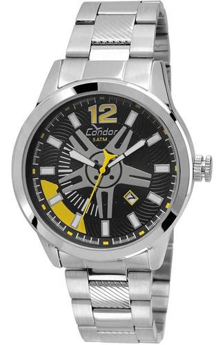 Relógio Condor Masculino Calotas Co2115vt/3p