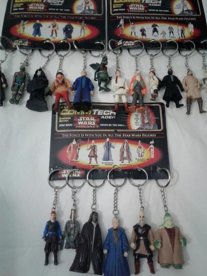Star Wars Llaveros Empaque De 6 Varios Modelos