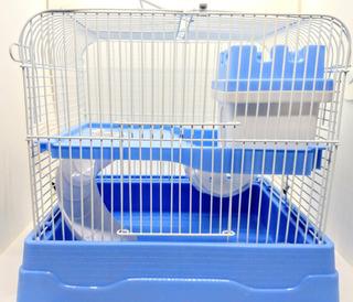 Jaula Para Hamster Completa Con Casa, Rueda Y Bebedero